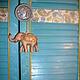 Элементы интерьера ручной работы. Двери в Индию. Natalia Bernik. Ярмарка Мастеров. Восточный стиль, восковой лак