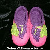 """Обувь ручной работы. Ярмарка Мастеров - ручная работа Тапочки """"Изабелла"""". Handmade."""