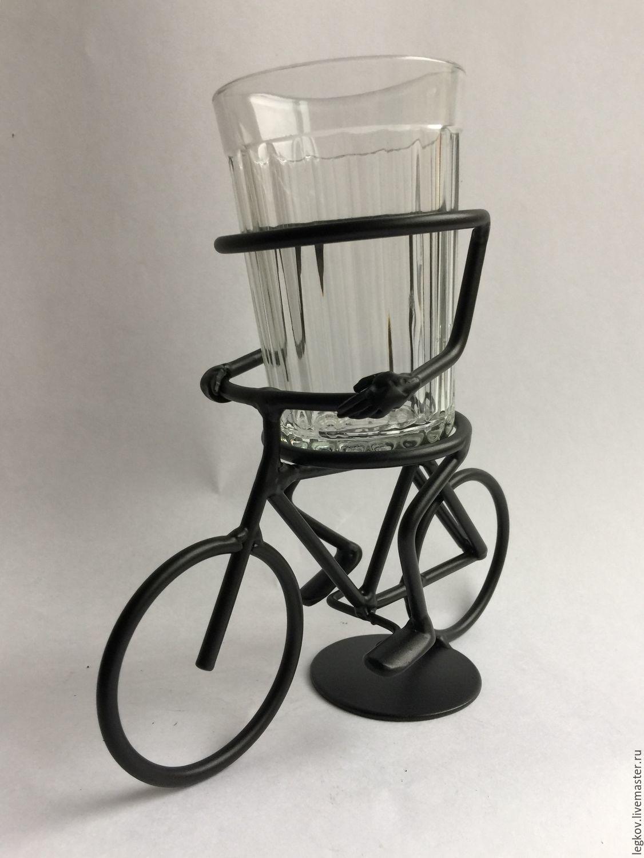 Holder 'Cyclist', Water Glasses, Kolchugino,  Фото №1