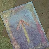Картины и панно ручной работы. Ярмарка Мастеров - ручная работа руна тейваз энергетическая картина на бумаге ручной работы. Handmade.