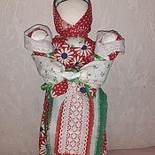 """Народная кукла ручной работы. Ярмарка Мастеров - ручная работа Кукла-оберег """"Двойная прибыль"""". Handmade."""