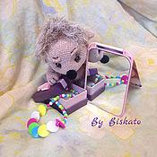 Куклы и игрушки ручной работы. Ярмарка Мастеров - ручная работа Ежик Люси. Handmade.