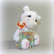 Куклы и игрушки ручной работы. Ярмарка Мастеров - ручная работа Апельсиновая карамелька. Handmade.