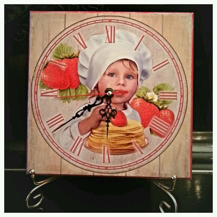 wall clock little chef, Watch, Moscow,  Фото №1