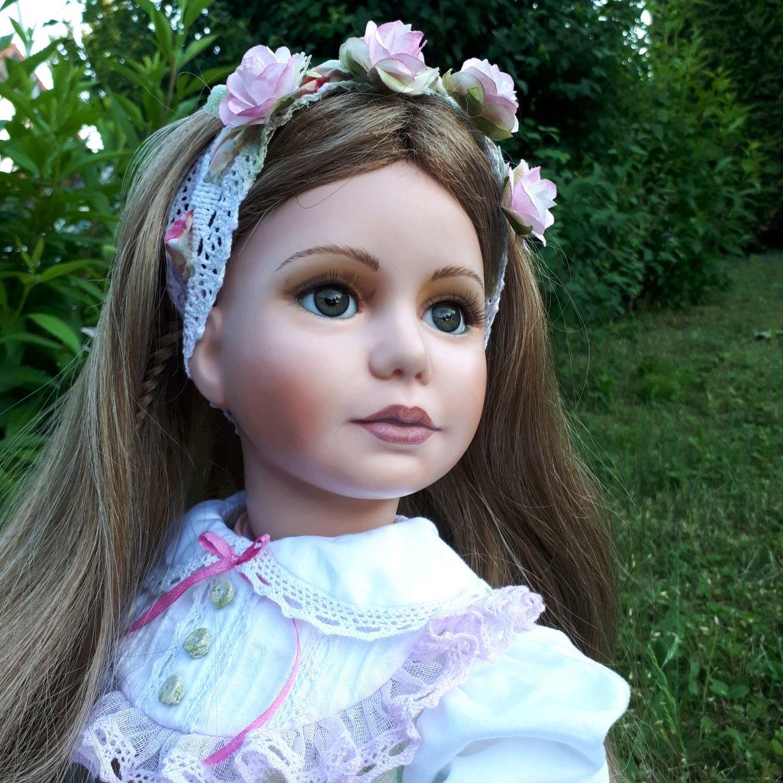 Garden rose Collectible porcelain doll, Dolls, Kempten,  Фото №1