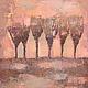 """Картины цветов ручной работы. Ярмарка Мастеров - ручная работа. Купить Картина """"Разноцветный ветер"""". Handmade. Картина маслом"""