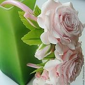 """Украшения ручной работы. Ярмарка Мастеров - ручная работа Ободок детский """"Розовое облако"""". Handmade."""