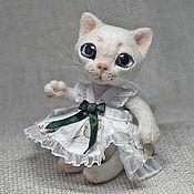 Куклы и игрушки ручной работы. Ярмарка Мастеров - ручная работа Валяная игрушка «Маха». Handmade.