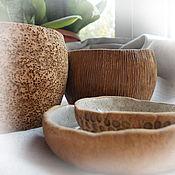 """Посуда ручной работы. Ярмарка Мастеров - ручная работа Чайная парочка """"Гнездо перепелки"""". Handmade."""
