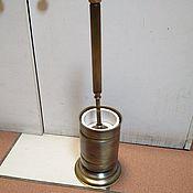 Комплекты аксессуаров для дома ручной работы. Ярмарка Мастеров - ручная работа Ершик для унитаза из латуни. Handmade.
