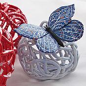 Сувениры и подарки handmade. Livemaster - original item Bell Butterfly in an ice balloon. Handmade.