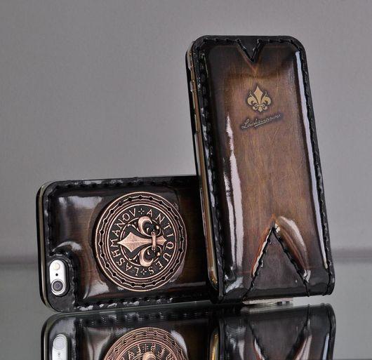 Для телефонов ручной работы. Ярмарка Мастеров - ручная работа. Купить Чехол для  iPhone 7 plus/ 6 plus/ c Орденом Бронзовой Лилии № 103i. Handmade.