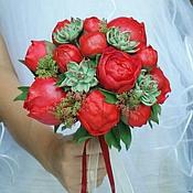 """Свадебный салон ручной работы. Ярмарка Мастеров - ручная работа Букет невесты """"Vivid image""""- СКИДКА 30%. Handmade."""