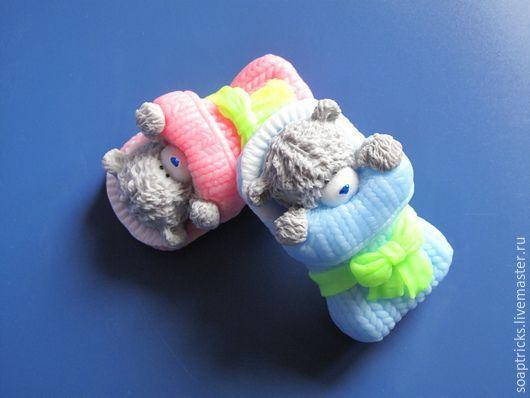 Мыло ручной работы. Ярмарка Мастеров - ручная работа. Купить Мыло Мишка новорожденный. Handmade. Разноцветный, мыло ручной работы