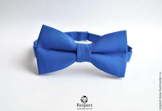 Галстуки, бабочки ручной работы. Ярмарка Мастеров - ручная работа. Купить Синяя бабочка галстук / галстук бабочка синяя, галстуки бабочки оптом. Handmade.