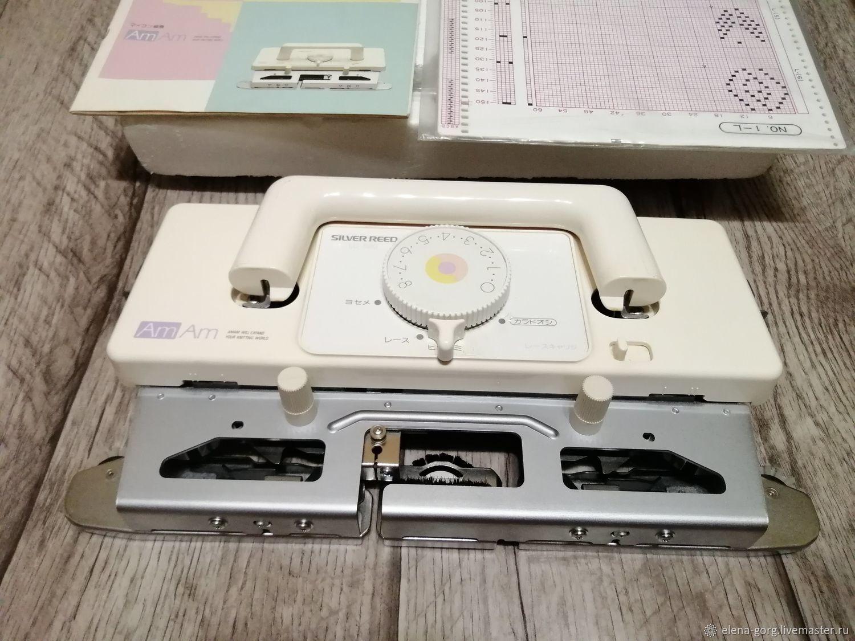 Каретка ажурная Silver Reed LS580 Япония, Инструменты для вязания, Краснодар,  Фото №1