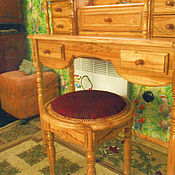 Для дома и интерьера ручной работы. Ярмарка Мастеров - ручная работа дамский столик с банкеткой. Handmade.