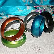 Украшения ручной работы. Ярмарка Мастеров - ручная работа деревянные браслеты. Handmade.