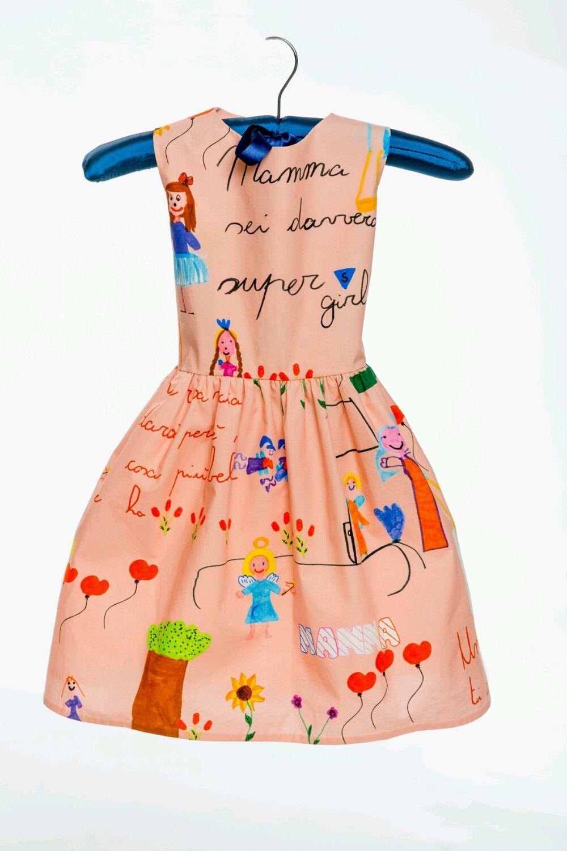 Платье в стиле Dolce & Gabbana, рост 104,116