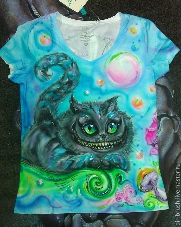 T-shirt 'Wonderland', T-shirts, Nizhny Novgorod,  Фото №1