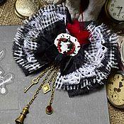 """Украшения ручной работы. Ярмарка Мастеров - ручная работа Брошь """" Вслед за Белым Кроликом"""". Handmade."""