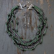 Украшения handmade. Livemaster - original item Necklace beads