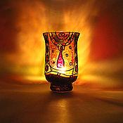"""Для дома и интерьера ручной работы. Ярмарка Мастеров - ручная работа Подсвечник """"Африканский"""". Handmade."""