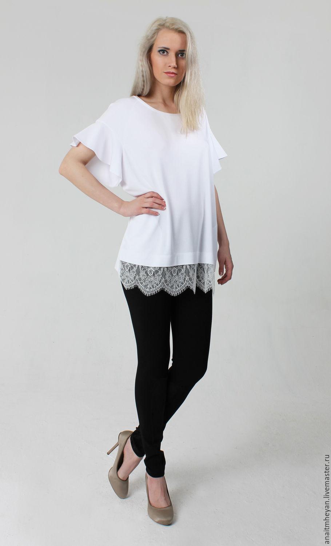 Блузка белая купить интернет магазин с доставкой