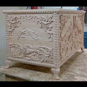 Для дома и интерьера ручной работы. Ярмарка Мастеров - ручная работа Сундук из бука. Handmade.