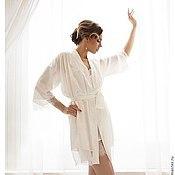 """Одежда ручной работы. Ярмарка Мастеров - ручная работа """"Леди Совершенство"""" - комплект белья для невесты с кружевом шантильи. Handmade."""