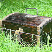 Для дома и интерьера handmade. Livemaster - original item A chest made of cedar Pirate. Handmade.