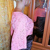 """Одежда ручной работы. Ярмарка Мастеров - ручная работа Розовое болеро""""Элегантность"""". Handmade."""