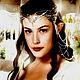 Кулоны, подвески ручной работы. Кулон  Эльфийская принцесса 3 апатит натуральный. Julia Lizard (Юлия). Ярмарка Мастеров.