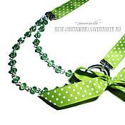 Украшения handmade. Livemaster - original item beads. Handmade.