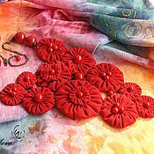 Украшения ручной работы. Ярмарка Мастеров - ручная работа Колье Время собирать ягоды. Handmade.