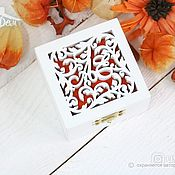 Свадебный салон handmade. Livemaster - original item Wooden wedding box. Handmade.