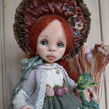 Куклы и игрушки ручной работы. Ярмарка Мастеров - ручная работа Милена (Мила). Текстильная интерьерная кукла.. Handmade.