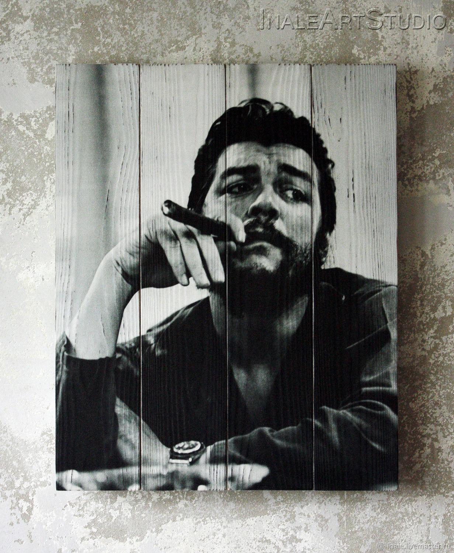 Pintura en las tablas ' Che Guevara', Pictures, Tomsk,  Фото №1