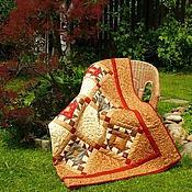 Для дома и интерьера ручной работы. Ярмарка Мастеров - ручная работа Лоскутное одеяло Сон в летнюю ночь пэчворк. Handmade.