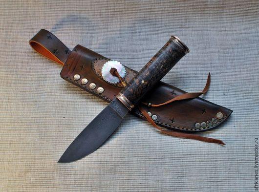 """Подарки для мужчин, ручной работы. Ярмарка Мастеров - ручная работа. Купить нож ручной работы """"Сон Хуана"""". Handmade. Индейцы"""