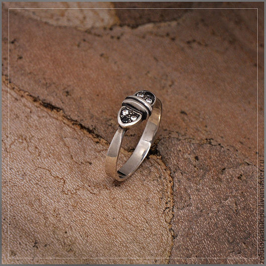 """Кольца ручной работы. Ярмарка Мастеров - ручная работа. Купить Кольцо """"Фонарики"""" из серебра 925 пробы. Handmade."""