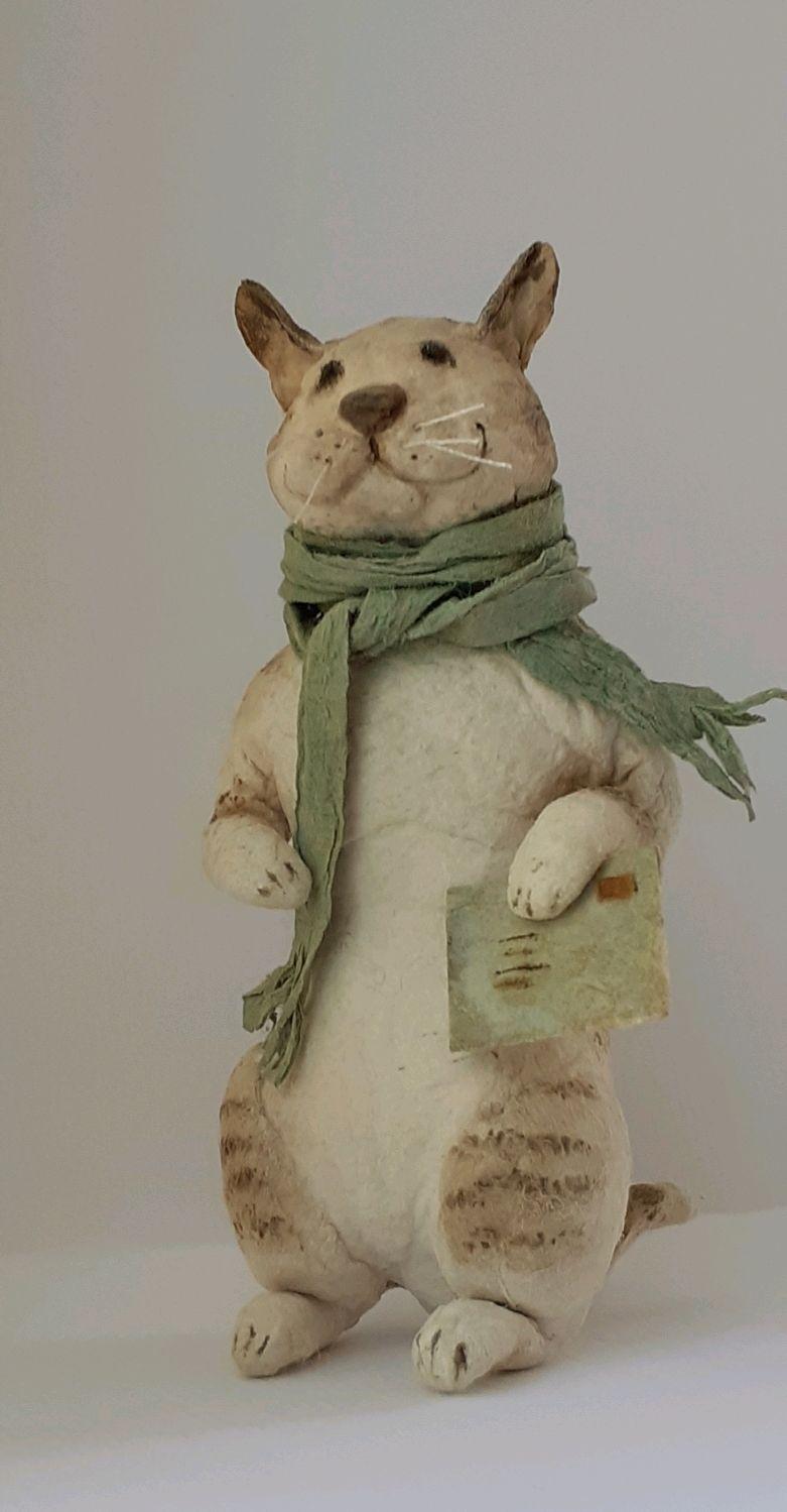 Кот Семен ватный, Мягкие игрушки, Нижний Новгород,  Фото №1