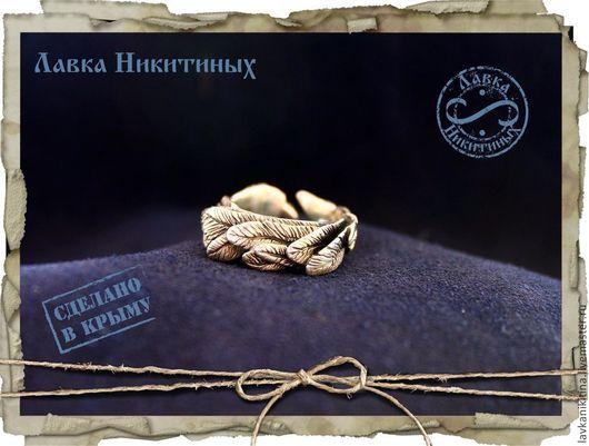 Кольца ручной работы. Ярмарка Мастеров - ручная работа. Купить Кольцо с перьями. Handmade. Серебряный, серебряное кольцо купить