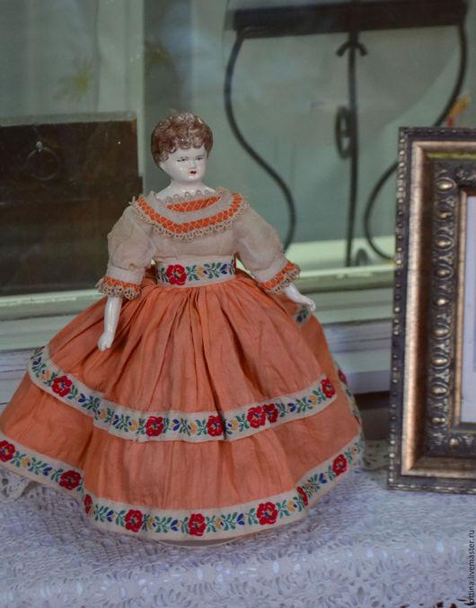 Винтажные куклы и игрушки. Ярмарка Мастеров - ручная работа. Купить Винтажная куколка. Handmade. Комбинированный, винтаж, авторская работа