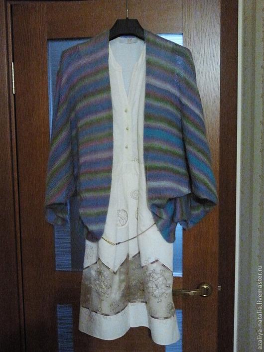 Кофты и свитера ручной работы. Ярмарка Мастеров - ручная работа. Купить Кофта из ангоры. Handmade. Кофта, накидка, мохер