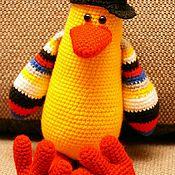Куклы и игрушки ручной работы. Ярмарка Мастеров - ручная работа Пингвин в кепке. Handmade.