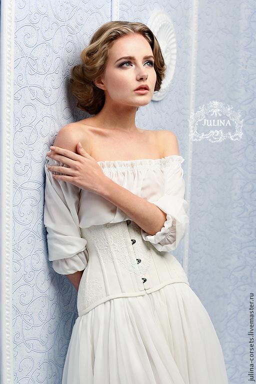 Белая шелковая блузка доставка