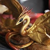 Куклы и игрушки ручной работы. Ярмарка Мастеров - ручная работа Дракон - Солнечный Ветер. Handmade.