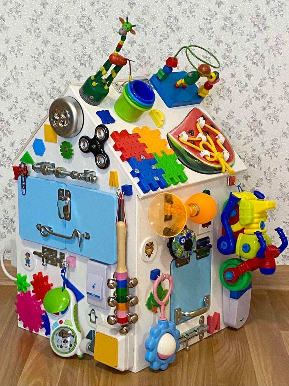 Бизиборд дом для мальчика от 8 месяцев, Бизиборды, Сургут,  Фото №1