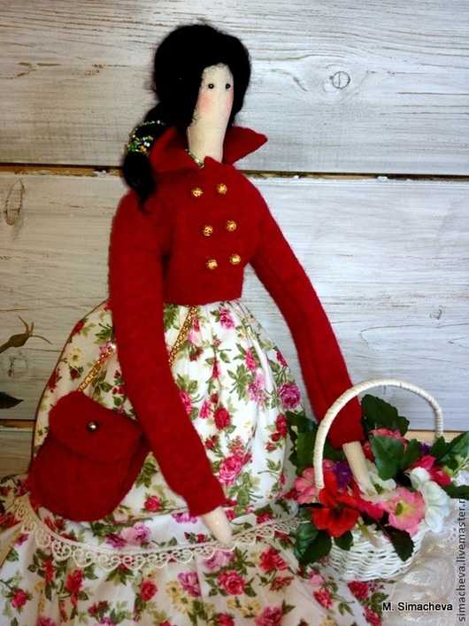 Куклы Тильды ручной работы. Ярмарка Мастеров - ручная работа. Купить Кукла Флоринда. Handmade. Тильда, подарок на любой случай